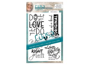 COOSA Crafts #2 Quote Mini's Clear Stamps (COC-028)