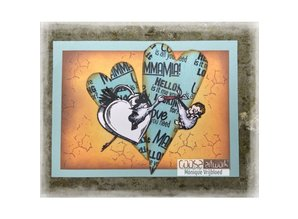 COOSA Crafts #18 Fusion Mammamia Clear Stamps (COC-103)
