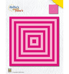 Nellie Snellen Multi Frame Square Straight Corners (MFD119)