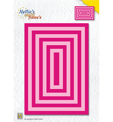 Nellie Snellen Multi Frame Rectangle Straight Corners (MFD120)