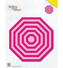 Nellie Snellen Multi Frame Straight Octagon (MFD121)