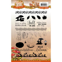 Yvonne Creations Fabulous Fall Clear Stamp Set (YCCS10041)