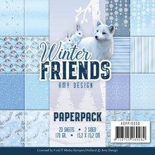 Amy Design Winter Friends 6x6 Inch Paper Pack (ADPP10030)