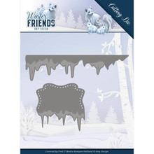 Amy Design Winter Friends Ice Border Die (ADD10192)