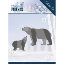 Amy Design Winter Friends Polar Bears Die (ADD10195)