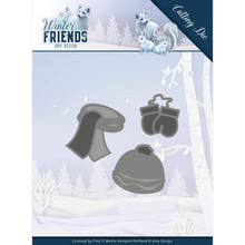 Amy Design Winter Friends Winter Clothes Die (ADD10196)