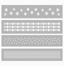 My Favorite Things Winter Stencil Strips (ST-127)