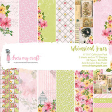 Dress My Craft Whimsical Hues 6x6 Inch Paper Pad (DMCP1695)