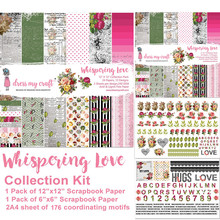Dress My Craft Whispering Love 12x12 Inch Collection Kit (DMCP2542)