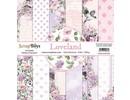 ScrapBoys Loveland 6x6 Inch Paper Pad (LOLA-09)
