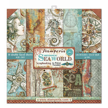 Stamperia Sea World 12x12 Inch Paper Pack (SBBL64)