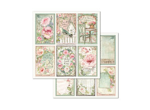 Stamperia House of Roses 8x8 Inch Paper Pack (SBBS08)