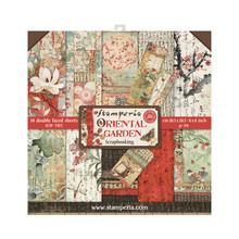 Stamperia Oriental Garden 8x8 Inch Paper Pack (SBBS09)