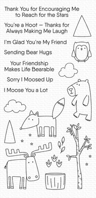 My Favorite Things Bear Hug Bunch Clear Stamps (CS-439)
