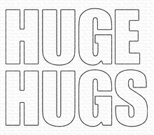 My Favorite Things Die-namics Huge Hugs (MFT-1670)