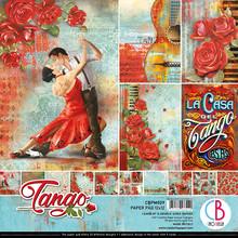 Ciao Bella Papercrafting Tango 12x12 Inch Paper Pad (CBPM029)