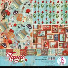 Ciao Bella Papercrafting Tango 12x12 Inch Patterns Pad (CBT029)