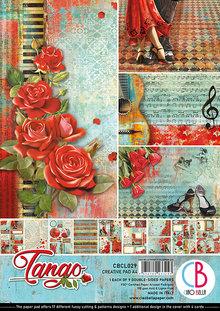 Ciao Bella Papercrafting Tango A4 Creative Pad (CBCL029)