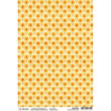 Ciao Bella Papercrafting The Seventies Flower Revolution A4 Piuma Rice Paper (CBRP090)