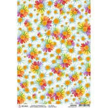 Ciao Bella Papercrafting The Seventies Love Peace Joy A4 Piuma Rice Paper (CBRP092)