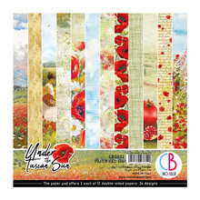 Ciao Bella Papercrafting Under the Tuscan Sun 6x6 Inch Paper Pad (CBQ032)
