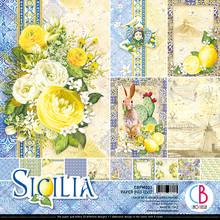 Ciao Bella Papercrafting Sicilia 12x12 Inch Paper Pad (CBPM033)