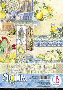 Ciao Bella Papercrafting Sicilia A4 Creative Pad (CBCL033)