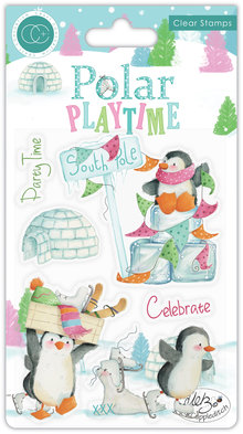 Craft Consortium Polar Playtime Clear Stamps (CCSTMP023)