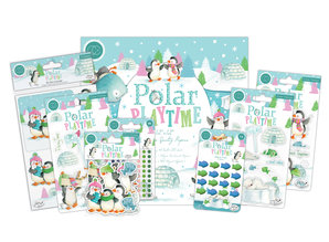 Craft Consortium Polar Playtime 3D Decoupage & Toppers Set (CCDPAK002)