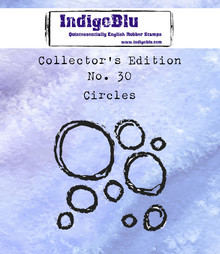 IndigoBlu Collectors Edition 30 Rubber Stamp - Circles (IND0583)
