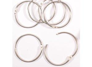 Vaessen Creative Boekbind Ringen 75 mm (2021-006)
