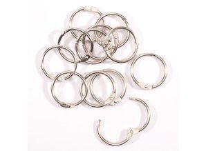 Vaessen Creative Boekbind Ringen 25 mm (2021-002)
