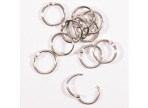 Vaessen Creative Boekbind Ringen 20 mm (2021-001)