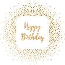 Gemini Foil Stamp 'N' Cut Die Happy Birthday (GEM-FSC-ELE-HBIRT)