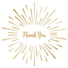 Gemini Foil Stamp 'N' Cut Die Thank You (GEM-FSC-ELE-THANK)