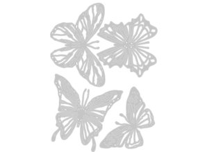 Sizzix Thinlits Alterations Scribble Butterflies (664409)