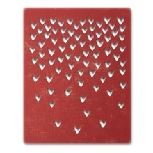 Sizzix Thinlits Alterations Falling Hearts (664415)