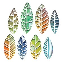 Sizzix Thinlits Alterations Cut Out Leaves (664431)