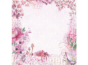 Crafter's Companion Fairy Garden 12x12 Inch Paper Pad (NG-FAIRY-PAD12)