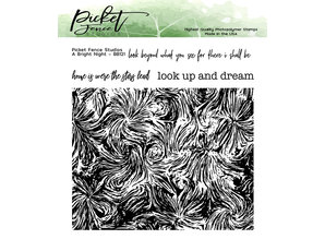 Picket Fence Studios A Bright Night Clear Stamps (BB-121)