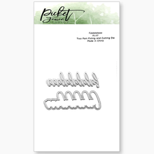 Picket Fence Studios Falalalalaaa Foil and Cutting Die (FI-117)