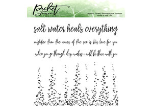 Picket Fence Studios A Bottomless Sea Clear Stamps (OC-106)