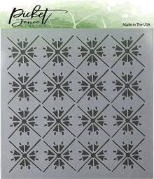 Picket Fence Studios Moroccan Tiles Stencil (SC-138)