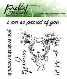Picket Fence Studios I am So Proud of You Clear Stamps (SF-105)