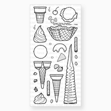 Picket Fence Studios Ice Cream You Scream Clear Stamps (T-100)