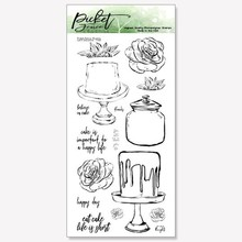 Picket Fence Studios Let's Decorate Clear Stamps (T-108)