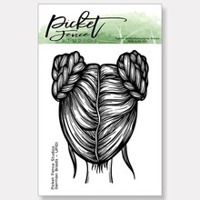 Picket Fence Studios German Braids Clear Stamps (UP-101)