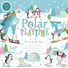 Craft Consortium Polar Playtime 6x6 Inch Paper Pad (CCPPAD014B)