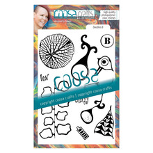 COOSA Crafts Doodles B Clear Stamps (COSH-126)