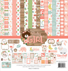 Echo Park Baby Girl 12x12 Inch Collection Kit (BAG202016)